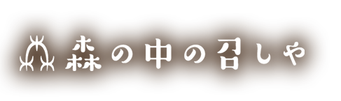 |碧南市のお洒落なカフェ「森の中の召しや(もりのなかのめしや)」